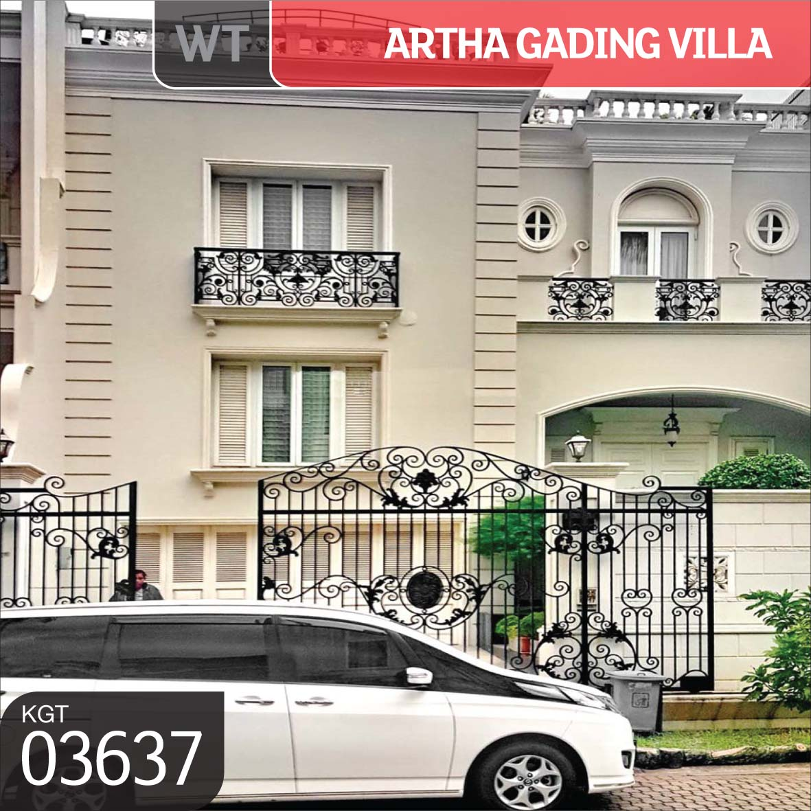 Kgt 03637 Wt For Sale Jual Rumah Artha Gading Villa Kelapa Gading Jakarta Utara Lj Hooker Kgt The Home Of Real Estate